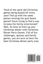 christmas dinner party games john jester 9781517203016 amazon