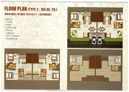 kingson green villa floor plan 91 9718448844