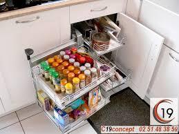 rangement dans la cuisine rangements malins pour la cuisine aménagement