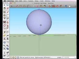create a ball sphere shape in sketchup youtube