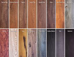 wood grain vinyl flooring planks featured on trident luxury