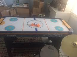 harvil air hockey table harvil 5 foot air hockey table for kids and adults ecaytrade