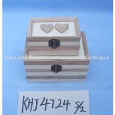 personalized wooden jewelry box china personalized wooden jewelry box with glass lids on global