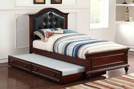 twin beds with trundle poundex f9377 bed in orange county pxf9379
