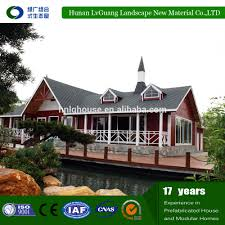 home design low cost prefabricated american style wooden house