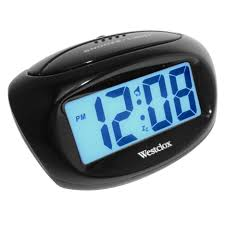 clock cvs radio station led digital desk clock battery operated