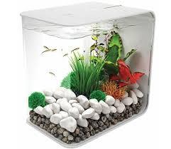 biorb flow 30 litre white fish tank aquarium gardensite co uk