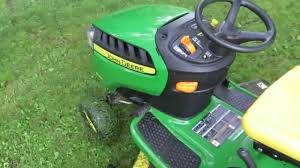 john deere d140 riding mower review ya get what ya pay for