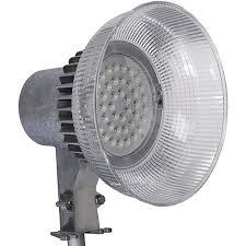 Outdoor Dusk To Dawn Light Honeywell Outdoor Led Galvanized Security Light 4000 Lumen Dusk