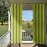 amazon com green outdoor curtains outdoor décor patio lawn