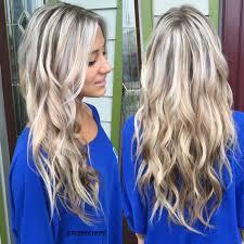 platinum blonde hair with brown highlights hair color trends 2017 2018 highlights platinum blonde