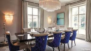 Dining Room Wallpaper Ideas Prepossessing 80 Blue And White Dining Room Decor Inspiration Of