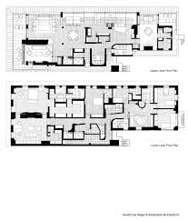 Duplex Floor Plan 5th Ave Duplex Penthouse Apartment New York Ny U2013 Studio H Shape