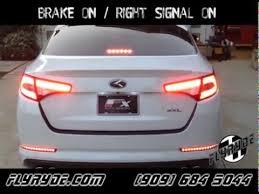 2013 kia optima lights kia optima led tail light signal module youtube