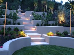 Slope Landscaping Ideas For Backyards by Hardscape Ideas For Slopes Finding The Hardscape Ideas For Your