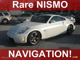 nissan 350z nismo 2008 pikes peak white pearl nissan 350z nismo coupe 42596242