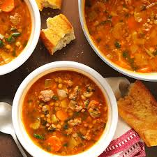 beef lentil soup recipe taste of home