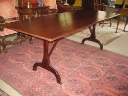 Shaker Dining Room Style Trestle Table Sold