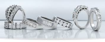 unique wedding bands wedding bands unique settings of new york