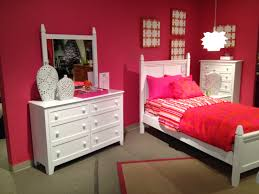 bedroom white painted wooden combined brown desk drawer twin ideas