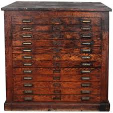 file cabinets awesome wooden flat file cabinet 102 antique