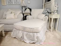 Shabby Chic Chaise by Sweet Melanie My Spin On A Chaise Lounge