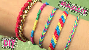 bracelet made with thread images Diy friendship bracelets 5 easy diy bracelet projects jpg