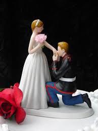 marine cake topper marine corps usmc prince wedding cake topper kneel