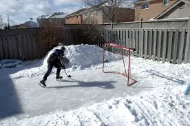 build a turf friendly backyard ice rink in 5 steps turf unlimited