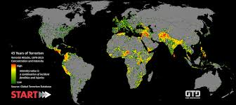 What Is A World Map by Global Terrorism Database