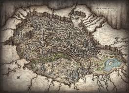 Dnd World Map by Fictional City Maps On Behance