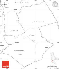 Blank Map Of Western Africa by Blank Simple Map Of Bomet