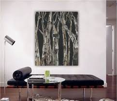 Oversized Wall Art by Extra Large Wall Art Black And White Print Masculine Decor Trees