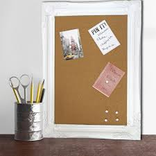 pin board large modern chic framed cork pin board memo notice board for