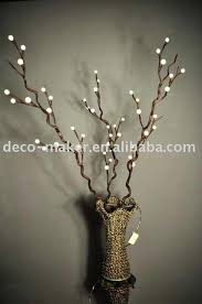 lighted tree branches lighted tree branches home decor sintowin
