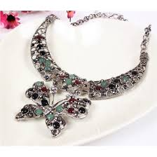new fashion necklace images Beautiful butterfly collar necklace new fashion finds by carole PNG