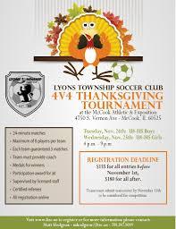 4 v 4 indoor thanksgiving tournament register now