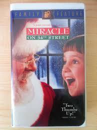 Miracle On 34th Miracle On 34th Street Vhs Richard Attenborough U0026 Elizabeth Perkins