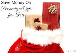 save money on personalized gifts for kids the stay at home mom