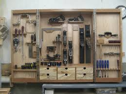Free Woodworking Plans Tool Cabinets by Hanging Tool Cabinet For Hand Tools Wood Pinterest Tool