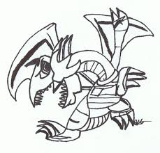 toon blue eyes white dragon by gemibear on deviantart
