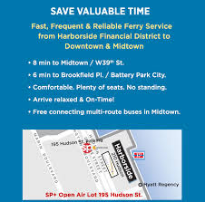 monthly parking jersey city harborside ferry landing monthly parking offer