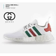 adidas x gucci adidas nmd white x gucci visit moda