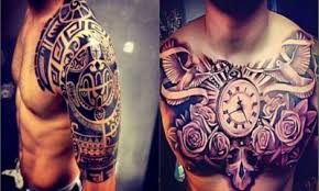 20 amazing tribal shoulder tattoos for