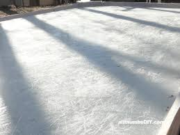 first time building a backyard ice rink u2013 ice condition january 17