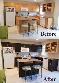 Diy Gel Stain Kitchen Cabinets Gel Stain Kitchen Cabinets Before After Wow