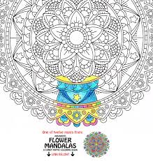 mandala coloring page forever unfolding printable coloring