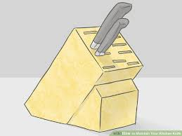 kitchen knives wiki 3 ways to maintain your kitchen knife wikihow