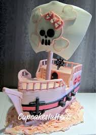 pirate birhtday cake claudine girly pirate ship birthday