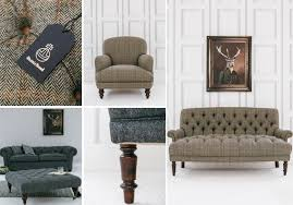 Presenting The Rose  Grey Harris Tweed Collection Rose And Grey - Harris furniture